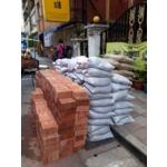 運送材料-冠祐環保有限公司-建材行,砂包,水泥,紅磚,石子,台北市建材行,新北市建材行