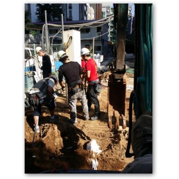 挖土機施工-廣達挖土機出租公司-新北