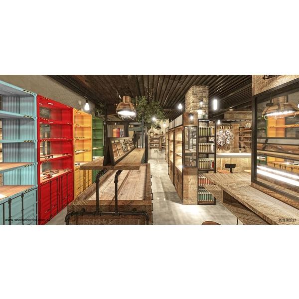 商業空間-西雅圖室內設計-台中