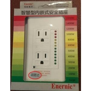 智慧型內嵌迴路式安全插座-新碩水電有限公司-新北