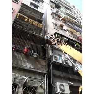 外牆排水管配置(吊車施作)
