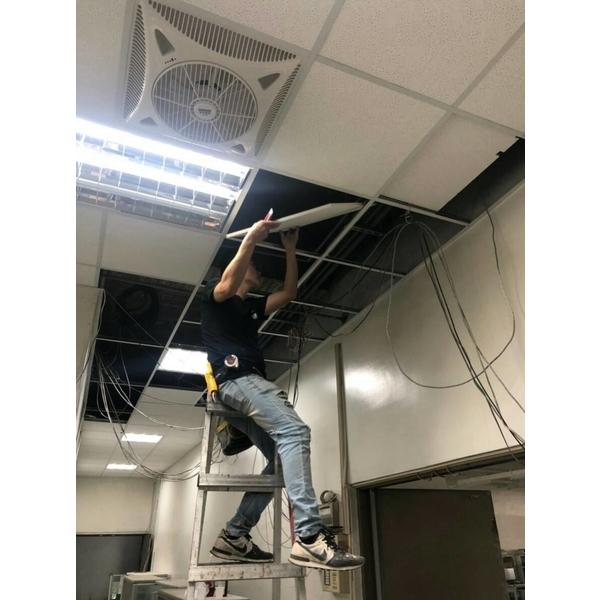 明架隔間天花板-惠勝工程行-高雄