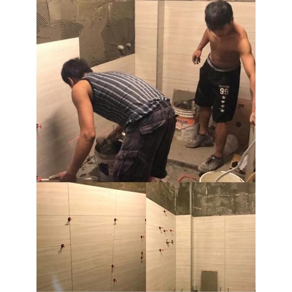 浴室磁磚工程