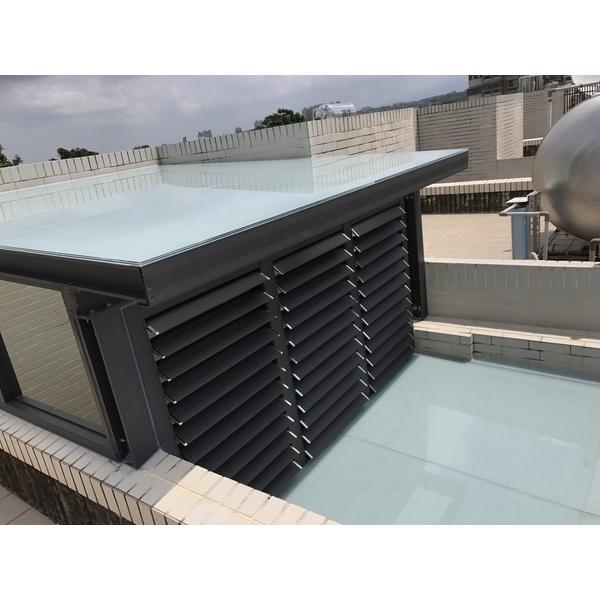 屋頂玻璃採光罩
