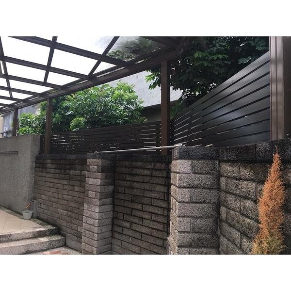 客製化「格柵圍籬」