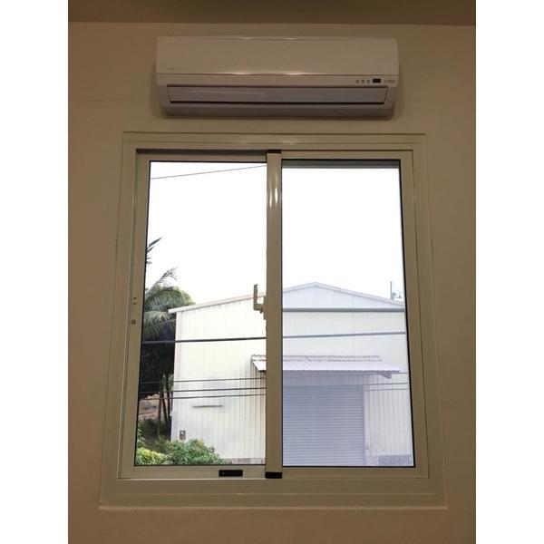隔音防盜窗(象牙白)