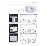 檯面式瓷盆檯面浴櫃組
