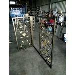 鍛造門窗-高雄遮雨棚,高雄採光罩,扶手,欄杆,帷幕牆,自動門-郁豪工程有限公司