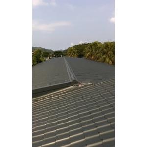 琉璃鋼瓦斜屋頂