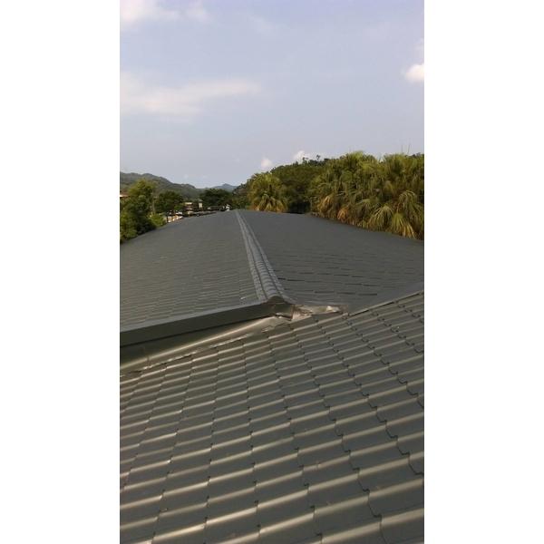 琉璃鋼瓦斜屋頂-金界工程行-新北