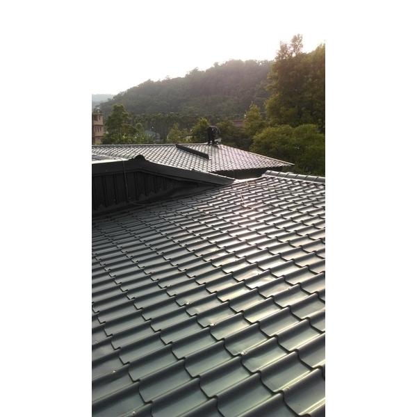 琉璃鋼瓦斜屋頂1-金界工程行-新北
