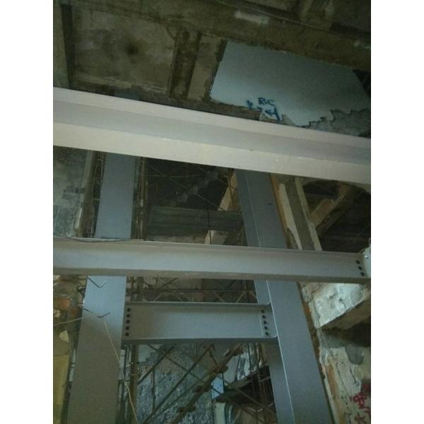 加強樑柱H型鋼補強エ程-金界工程行-新北