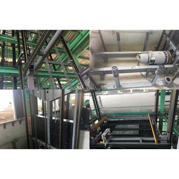 鋼構貨梯安裝 電控調試