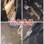 配合業主機坑抽水,及鐵材、緩衝器除鏽處理