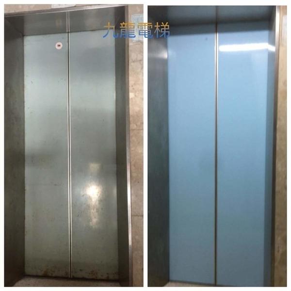 電梯門板烤漆工程