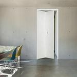 羊皮紙白-昶鑫企業有限公司-高雄室內鋁合金兩折門,浴室室內兩折門,雙折門