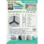54吋三葉AC簡易扇