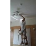 天花板粉刷