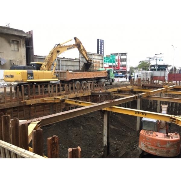 新竹市聯立賓士廠房興建土方工程