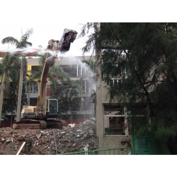 新竹市大庄國小教室拆除