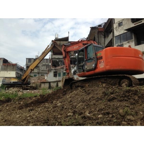 新竹縣芎林重劃區民宅拆除