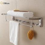 【帝鋼衛浴】304不鏽鋼多功能毛巾置物架 TBA-0725B