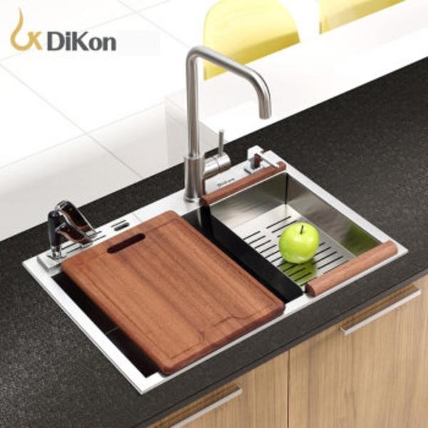 【帝鋼衛浴】304不鏽鋼廚房手工水槽 TSK-0102