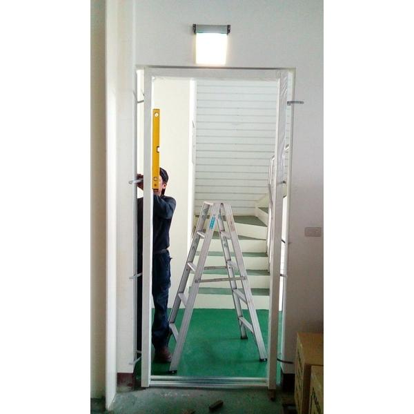 加裝前-門框&門扇-久順金屬工程-嘉義