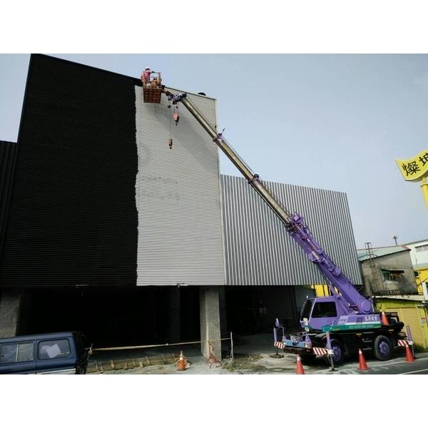 外牆高空吊車油漆