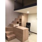 樓梯兼書桌書櫃