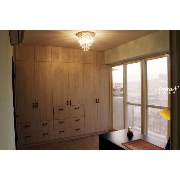 臥室衣櫃+收納櫃