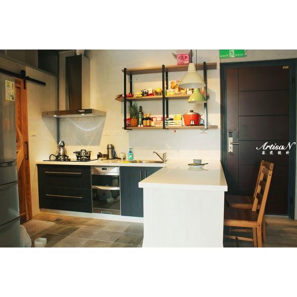 L型餐廚區
