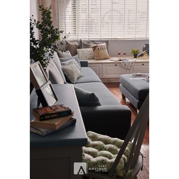 舊屋翻新 布質沙發