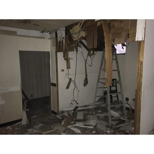 音樂教室拆除施工