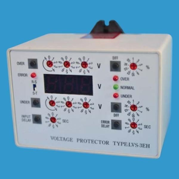 高、低壓及欠相保護系統