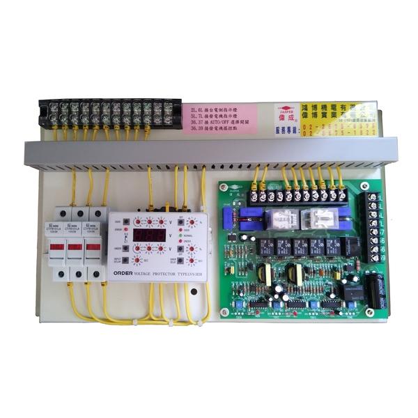 JS型控制+欠相及relay
