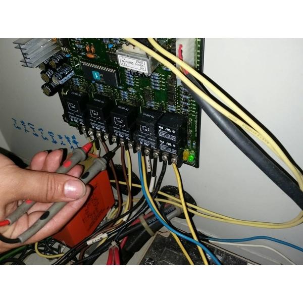 五股某工業大樓A.T.S控制系統檢測及保養
