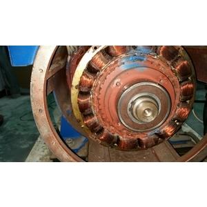 某大工廠更新發電機機頭維修工程