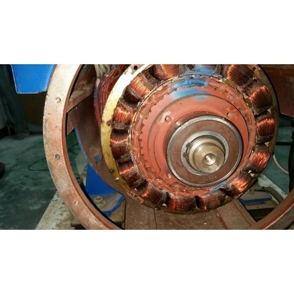某大工廠更新發電機機頭維修工程-鴻博機電有限公司-台北