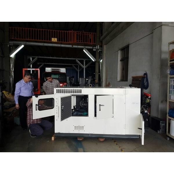 電動車軟體設計中心添購發電機設備
