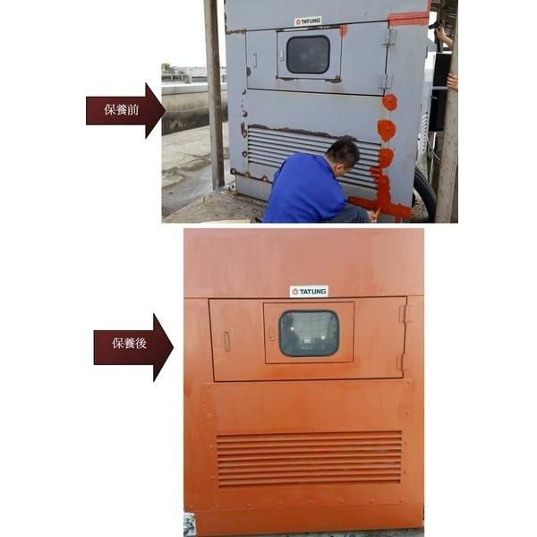 台北內湖區某大婦產科頂樓發電機大保養