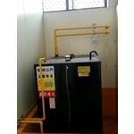 外商公司500KW發電機油箱排氣工程