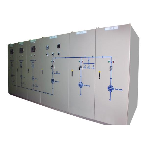 桃園某大百貨公司使用本公司三大發電機併聯盤-鴻博機電有限公司-台北