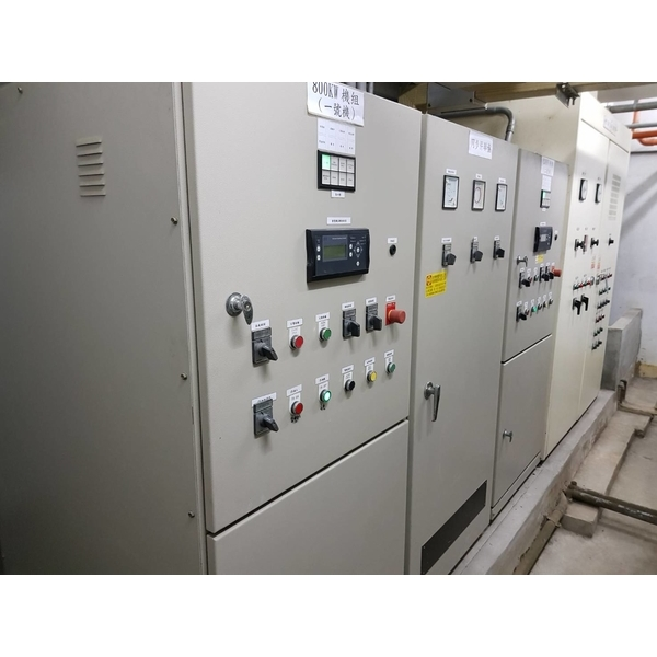 某大學發電機併聯盤定期保養維護