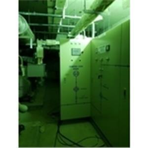 桃園統領百貨3台發電機併聯盤拉線工程