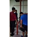 新北市烏來泰雅民族博物館 消防隊檢查