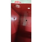 四組消防呼水槽 內外均有紅色烤漆工程