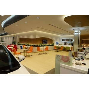 Toyota展示中心休息區
