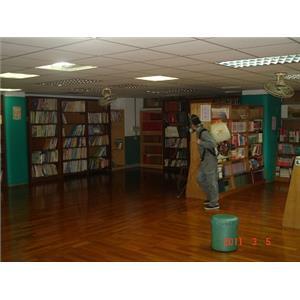 圖書館消毒