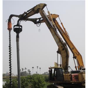 預力基樁鑽掘施工